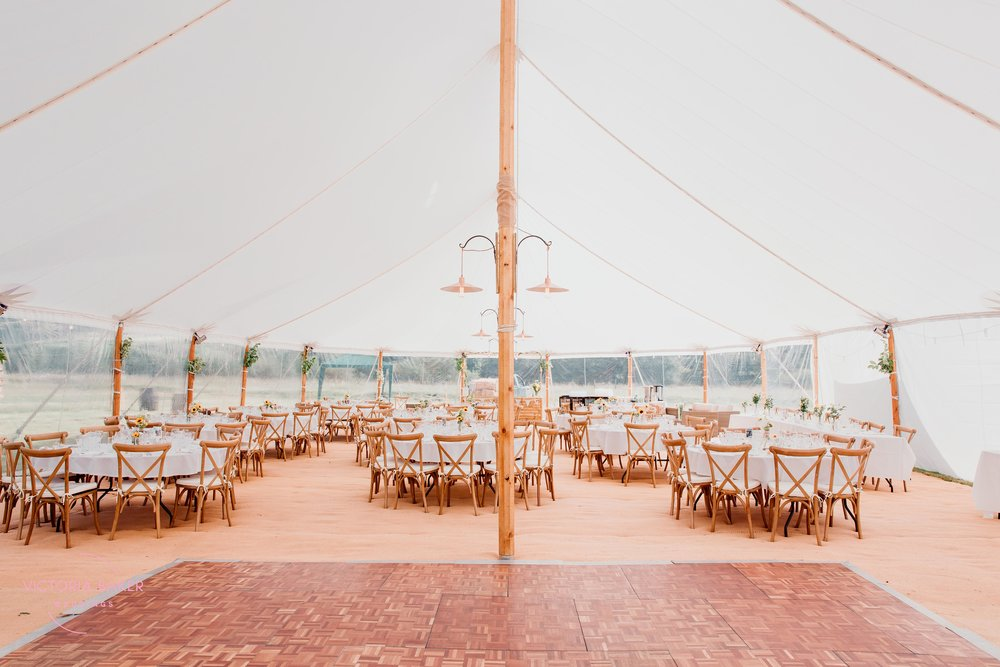 Marquee at Kilnsey Park Estate
