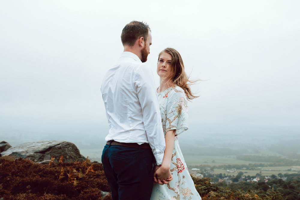 Abigail & Matthew Engagement session Ilkley