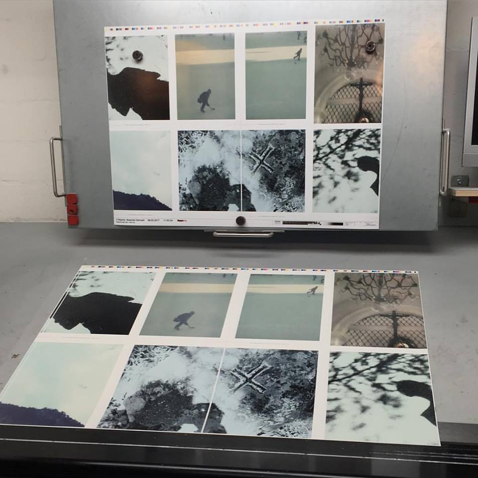 Printing at Steidl, February 2017