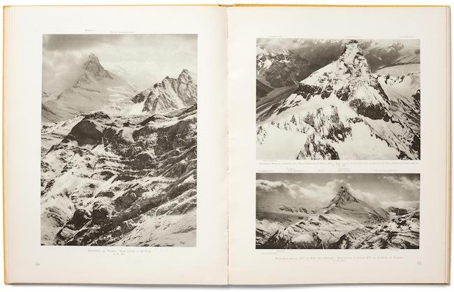 Walter Mittelholzer, Alpenflug, Orell Füssli, Zurich/Leipzig 1928 Eduard Spelterini, Über den Wolken, Brunner & Co. A.G., Zurich 1928
