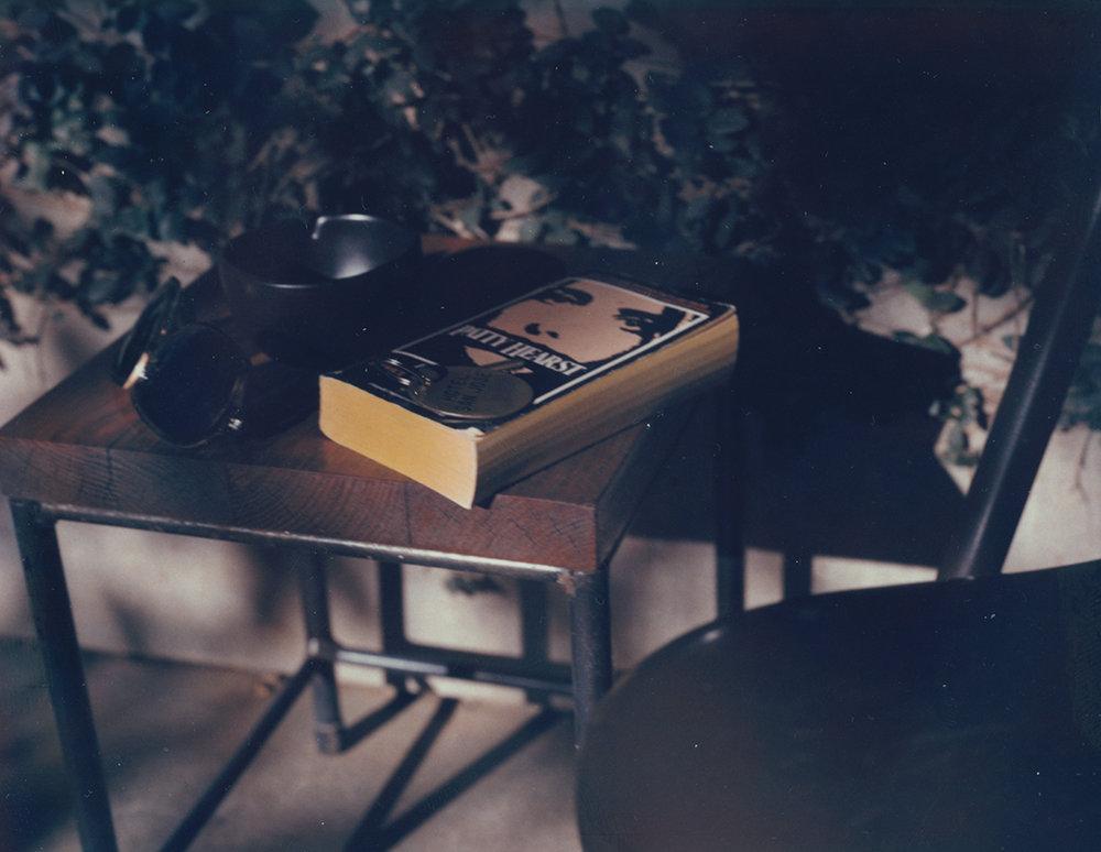 Patti Hearst /Polaroid 4X5' (10.5 X 13 cm) signed