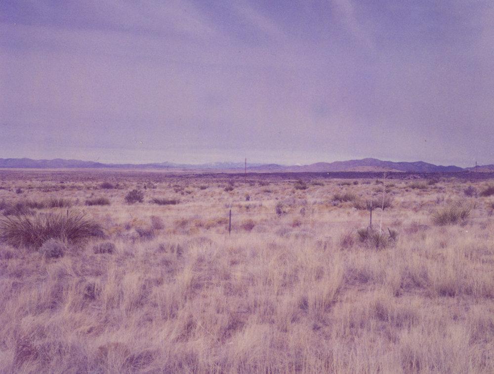 Marfa #1 /Polaroid 100 (10.8 X 8.5 cm) signed