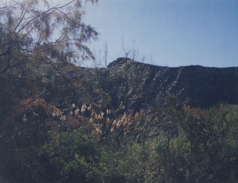 Rio Grande #1 /Polaroid 100 (10.8 X 8.5 cm) signed