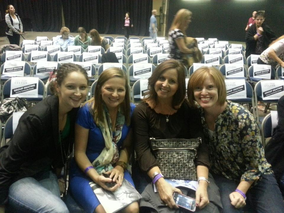 Beth Moore event in Long Beach last October.