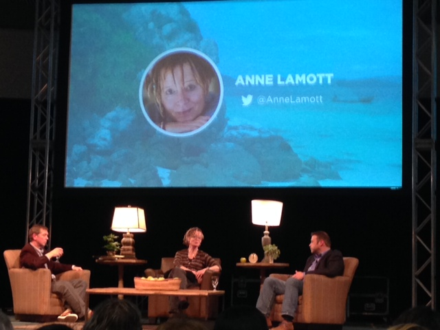 One of my favorite authors, Anne Lamott, speaking with the host and Donald Miller about life, God, and writing.