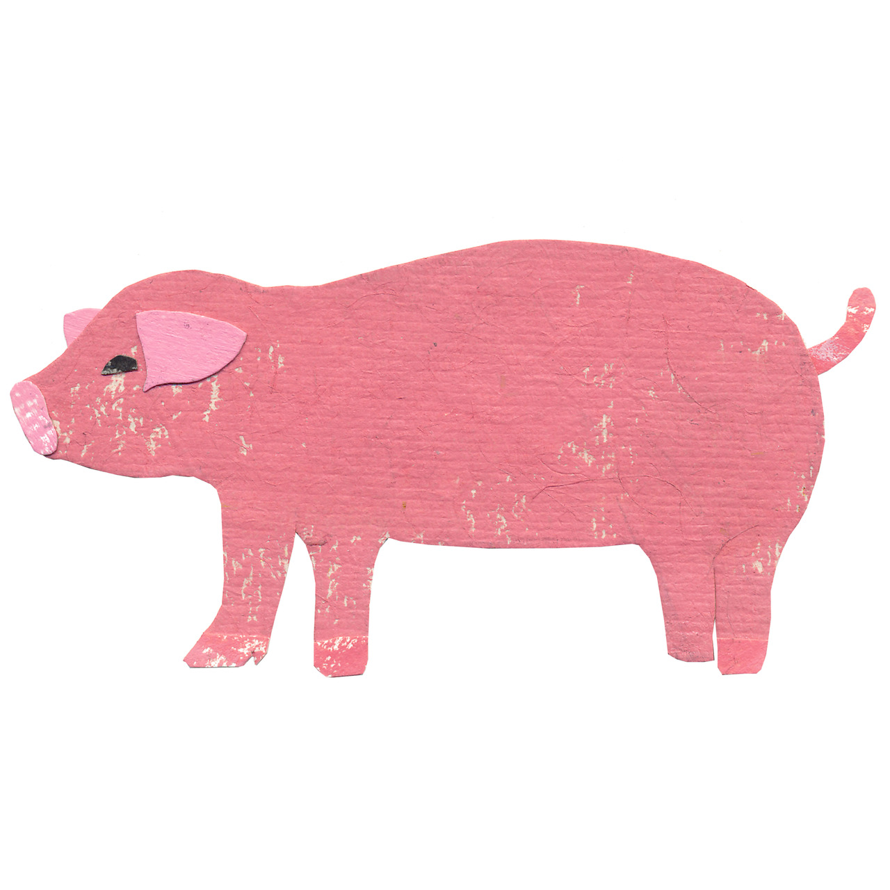an animal a day    P  for pig