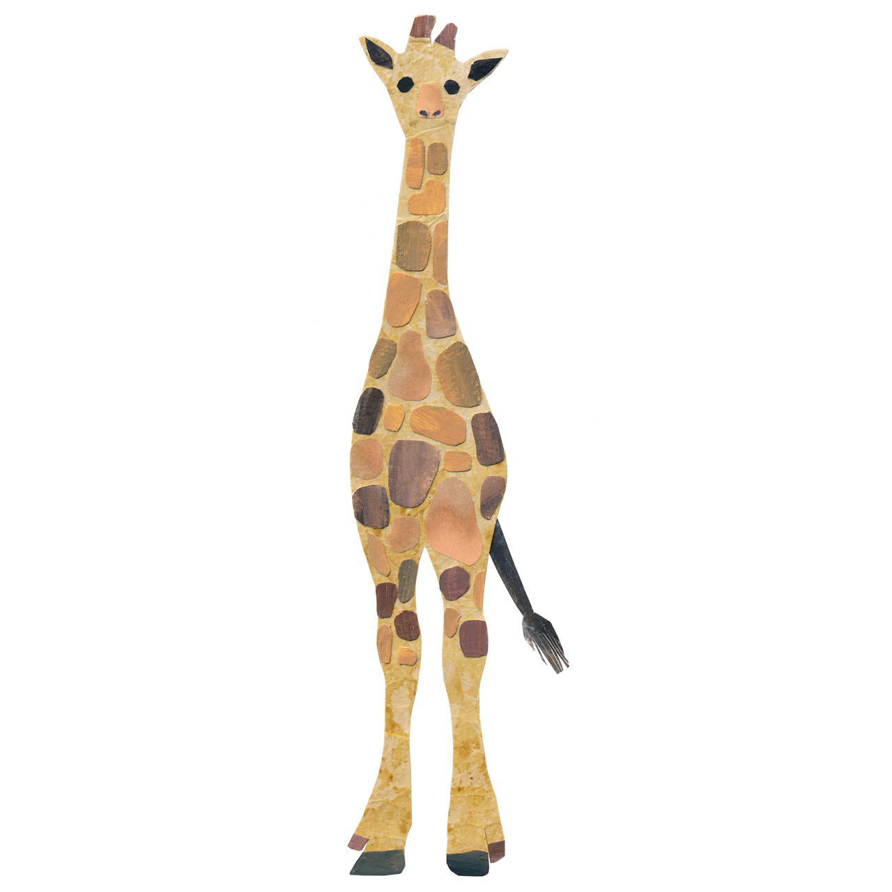 an animal a day    G  for giraffe
