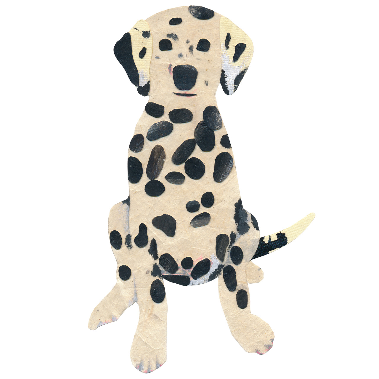 an animal a day D for dog. D for Dalmation.