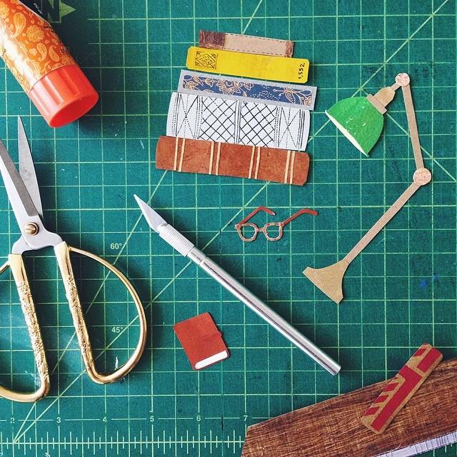 Sneak peek at a new client project #workinprogress #cutpaper