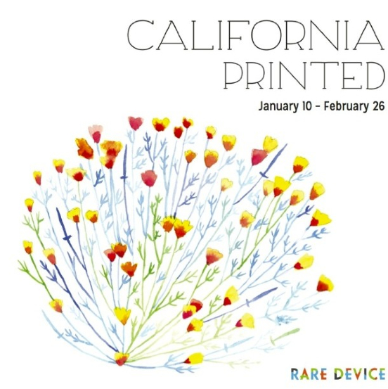 Hi Bay Area!   If you're in the area, I will be a part of a group show at Rare Device coming January 10-February 26, 2014. California Printed will feature artistic interpretations of California in printed form. Hint: Mine is about Oakland and the gallery will carry 25 extra prints for purchase :)   Here's a list of other artists featured in this show: Emily Proud, Cuddlefish Press, 3 Fish Studios, Julia Lucey, Kehau Lyons, Derek Macario, Forest & Waves, Katrina Zappala, Archie's Press, Jennifer Maravillas, and Hero Design.    The opening reception will be on January 10th from 6-8pm at Rare Device: 600 Divisadero St. San Francisco, CA