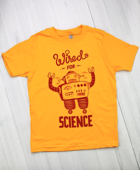cde57c828 Wired for Science Tee for Cognitive Surplus