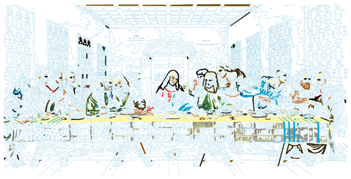 LAST SUPPER #1
