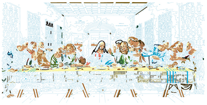 LAST SUPPER #7