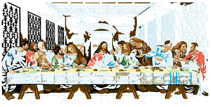 LAST SUPPER #15