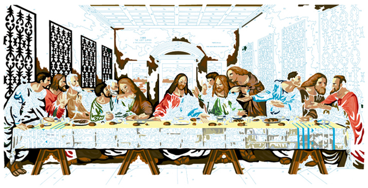 LAST SUPPER #16