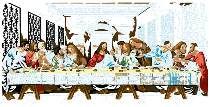 LAST SUPPER #17
