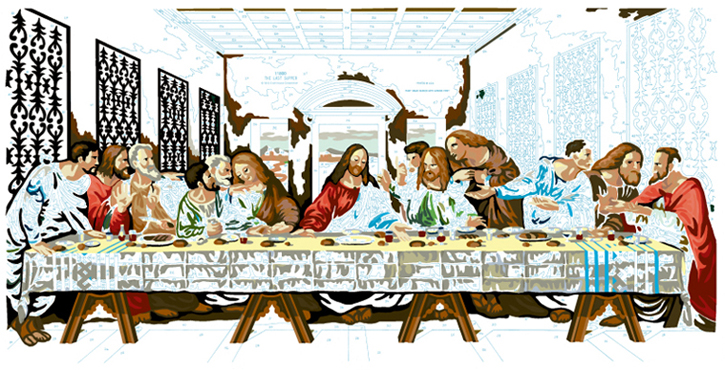 LAST SUPPER #21
