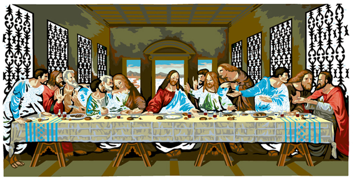 LAST SUPPER #33