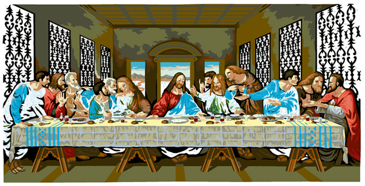LAST SUPPER #34