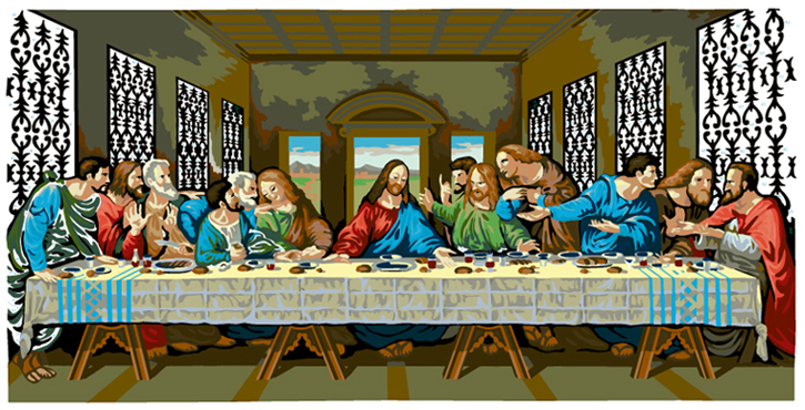 LAST SUPPER #40