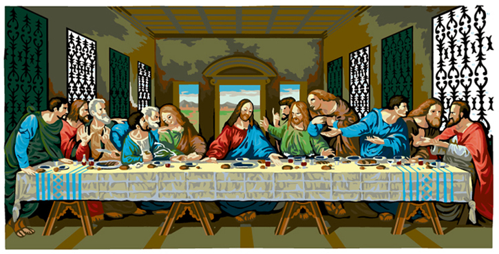LAST SUPPER #41