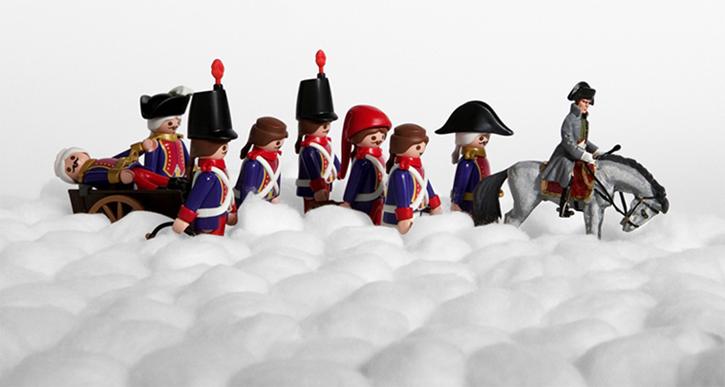 La retraite de Napoléon