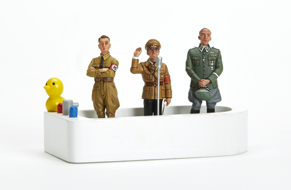 THREE OTHER NAZIS IN A TUB