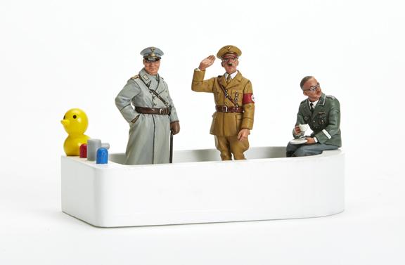 THREE NAZIS IN A TUB
