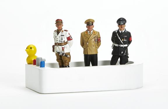 THREE LESSER-KNOWN NAZIS IN A TUB