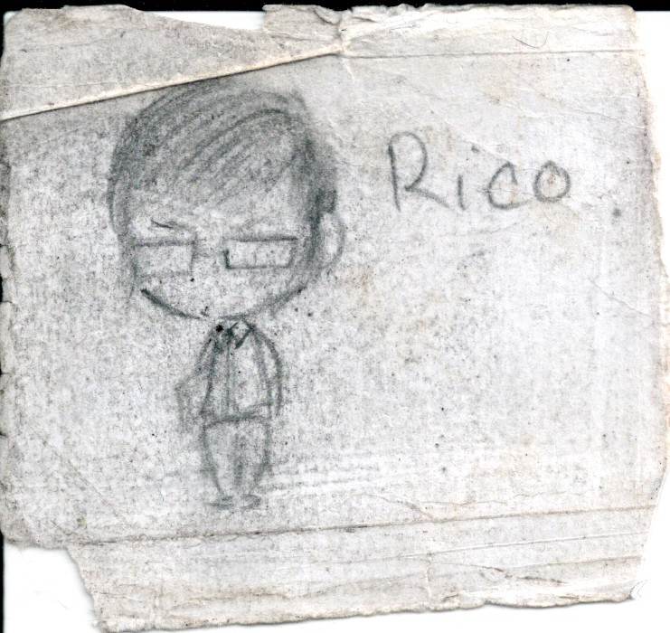 Drawn by a former student (to scale).