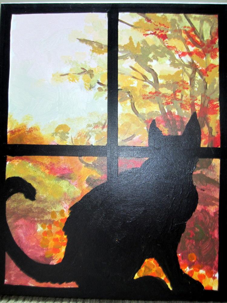 Pet in the Window