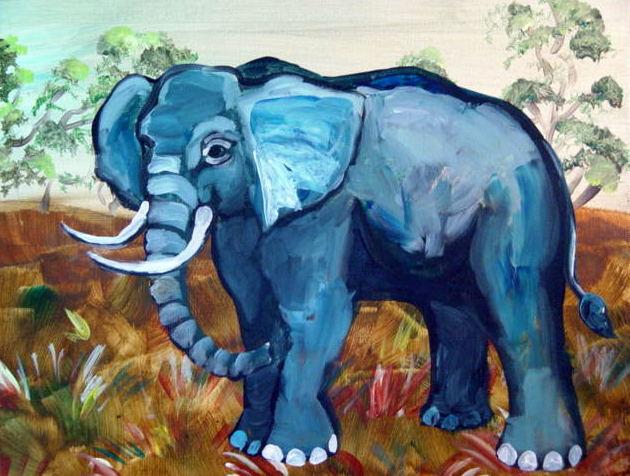 Wild Blue Elephant