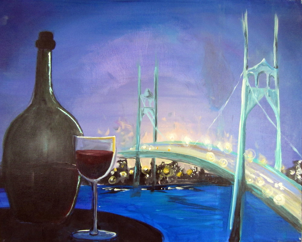 (St Johns) Bridge and Wine