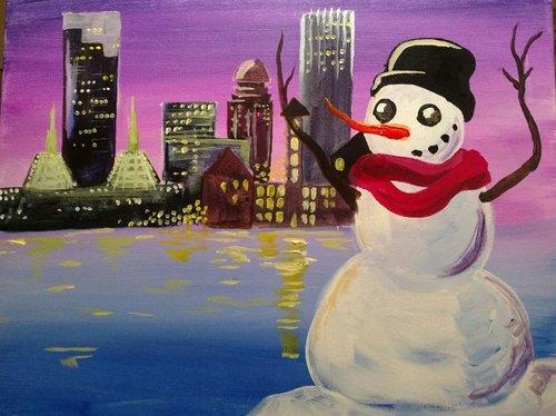 It's Wintertime in the City