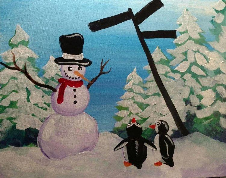 Which Way Snowman