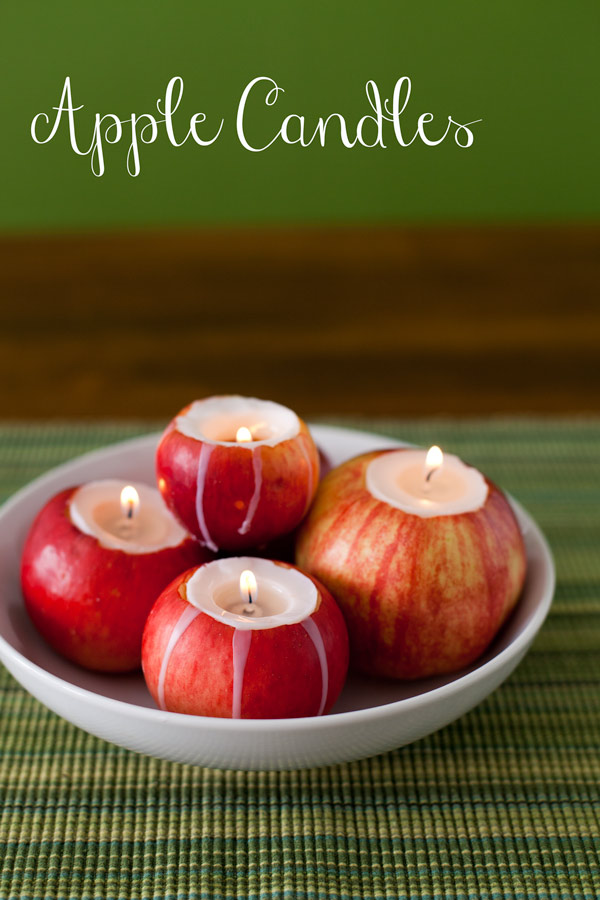 DIY Apple Candle :: Ginger Moose Photography .jpg