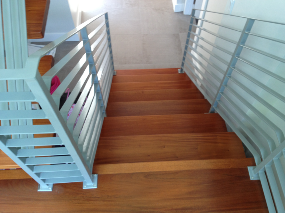 New Solid Mahogany Stair Treads