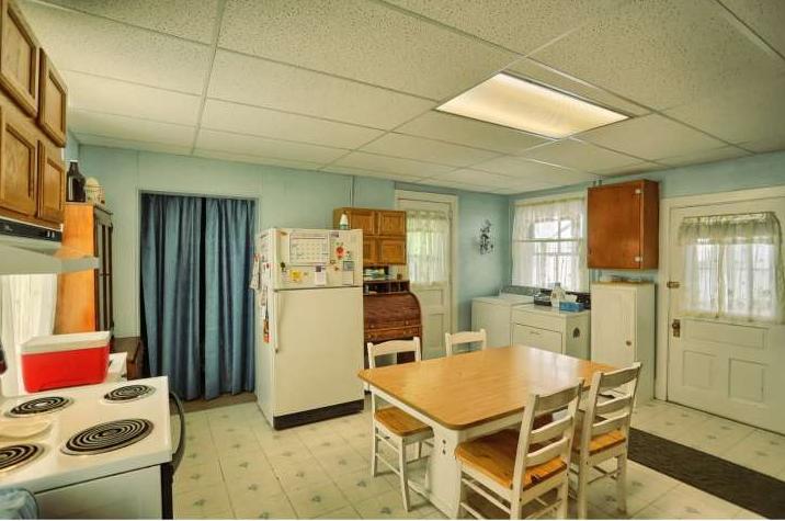 First floor original kitchen