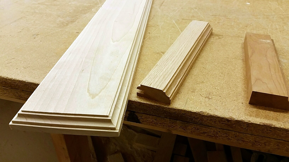 Edging choice for cabinets