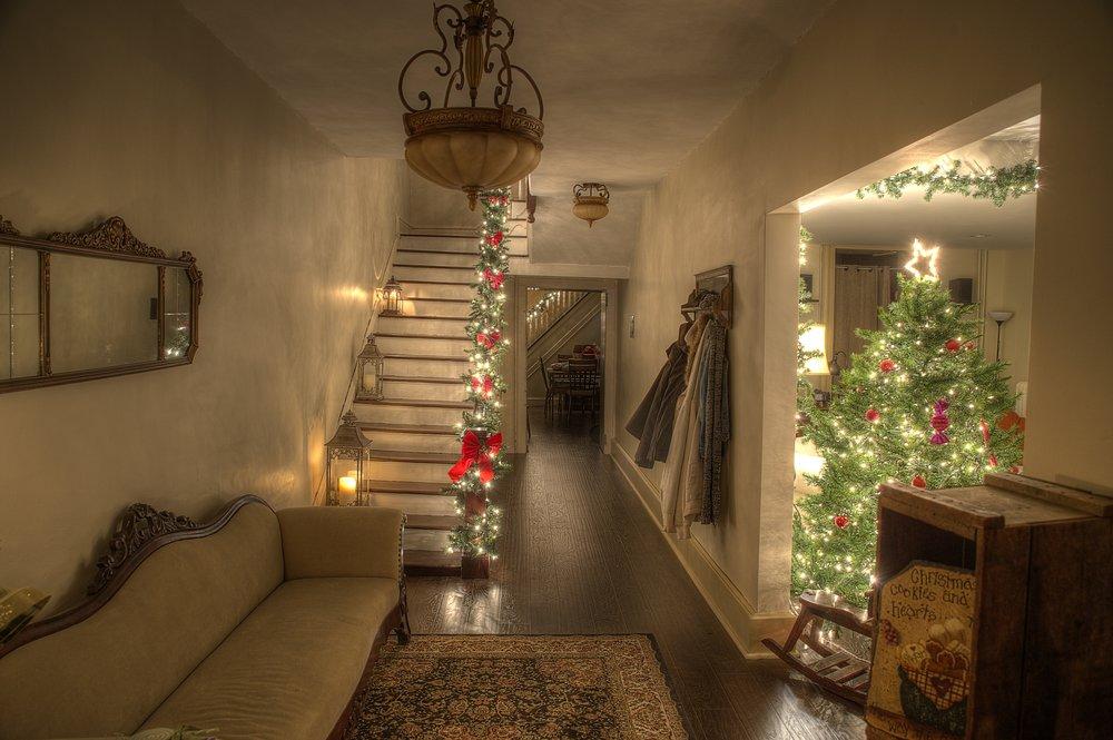 Entrance to our Christmas Studio!
