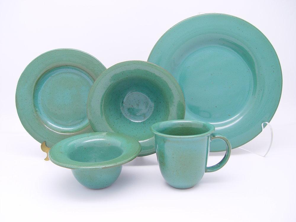 Calypso Green Dinnerware.JPG