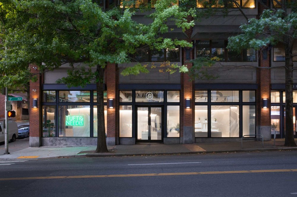 Tuft & Needle Seattle Retail - Commercial Architecture