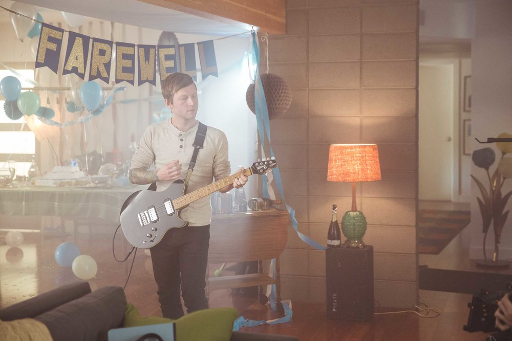 """Mayday Parade's """"Letting Go"""" Music Video - Behind the Scenes"""