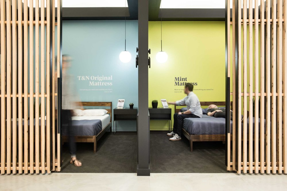 Tuft & Needle Kansas City Retail - Commercial Architecture