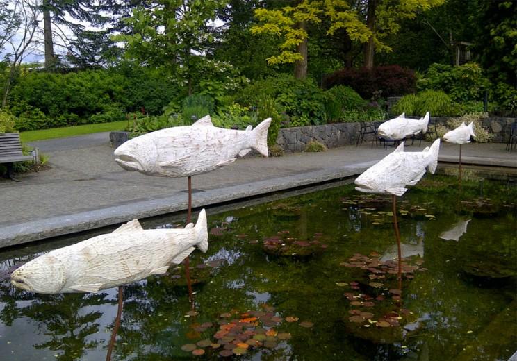 Ghost Salmon 2013, VanDusen Botanical Garden, Vancouver BC