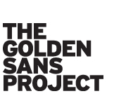 The Golden Sans Project