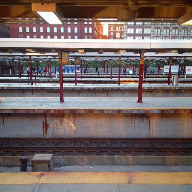 Platforms upon platforms upon platforms.  Welcome to the weekend #Boston.