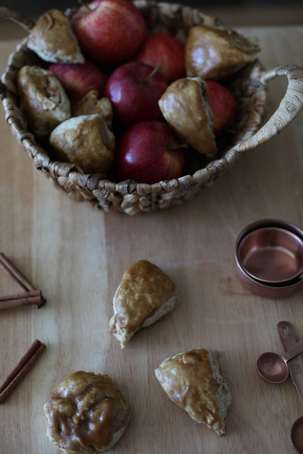 Apple Cider Scones By Wit & Aroma