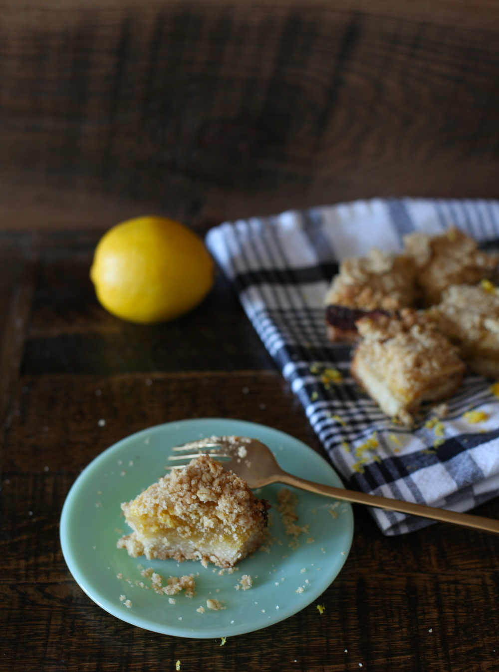 lemon and ginger bars by Wit & Aroma