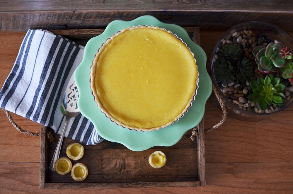 wit+aroma lemon curd tart